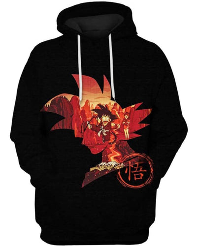 Red Memory - All Over Apparel - Hoodie / S - www.secrettees.com