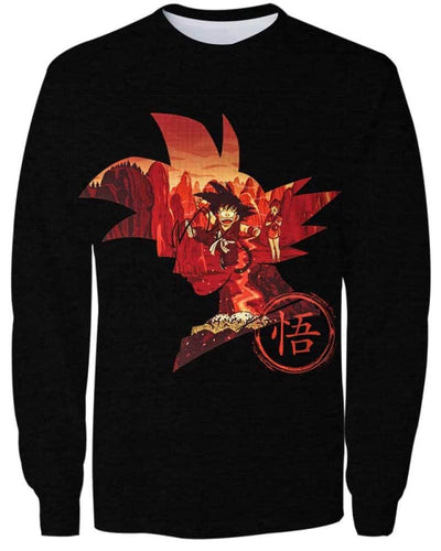 Red Memory - All Over Apparel - Sweatshirt / S - www.secrettees.com