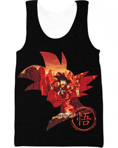 Red Memory - All Over Apparel - Tank Top / S - www.secrettees.com