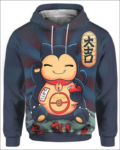 SnorCat - All Over Apparel - Hoodie / S - www.secrettees.com