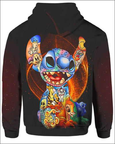Stitch Paint Inside - All Over Apparel - www.secrettees.com