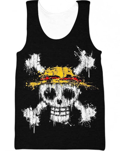 Straw Hat - All Over Apparel - Tank Top / S - www.secrettees.com