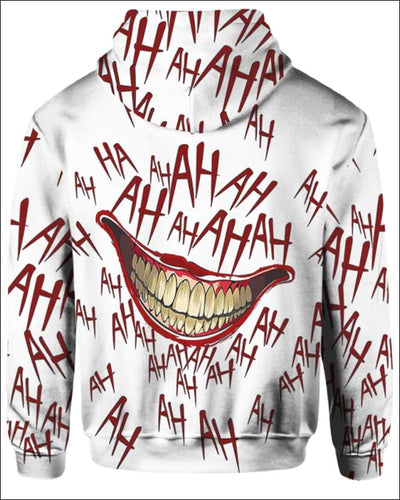 The Joker Laugh - All Over Apparel - www.secrettees.com