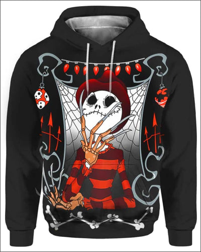 The Nightmare King - All Over Apparel - Hoodie / S - www.secrettees.com