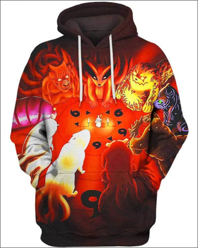 The Power Of The Monsters - All Over Apparel - Hoodie / S - www.secrettees.com