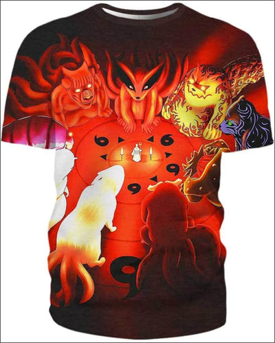 The Power Of The Monsters - All Over Apparel - T-Shirt / S - www.secrettees.com