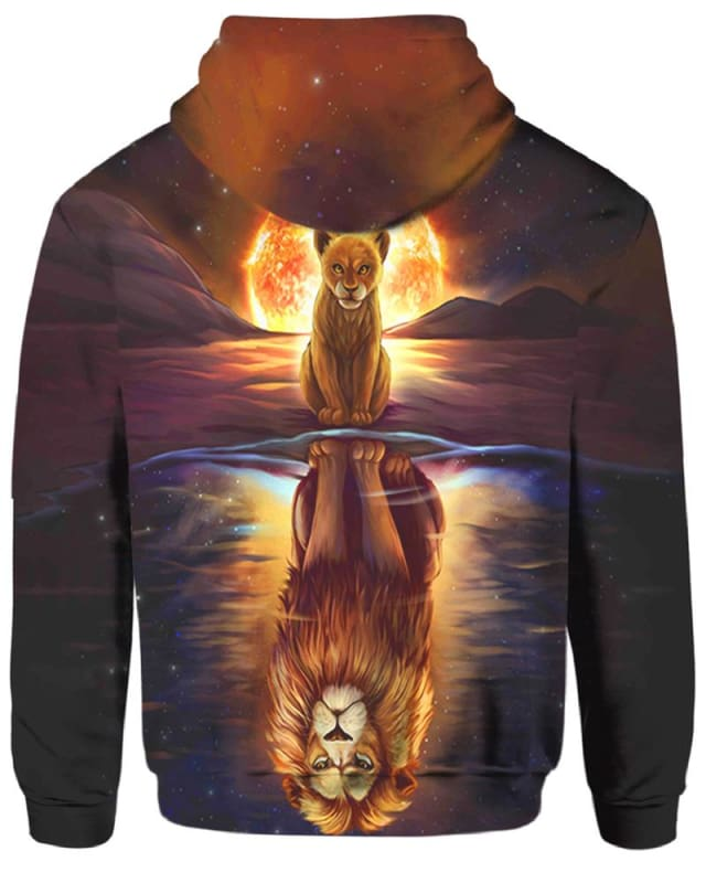 The Sun And Wolf - All Over Apparel - Hoodie / S - www.secrettees.com