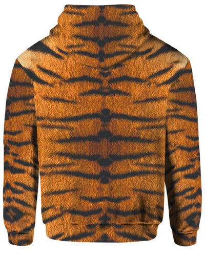Tiger Skin Costume - All Over Apparel - www.secrettees.com