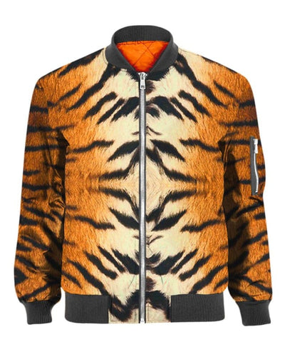 Tiger Skin Costume - All Over Apparel - Bomber / S - www.secrettees.com
