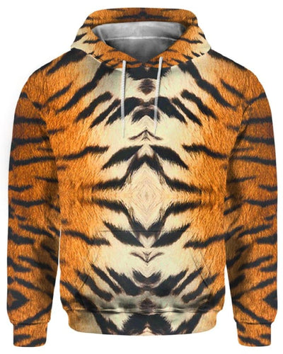 Tiger Skin Costume - All Over Apparel - Hoodie / S - www.secrettees.com