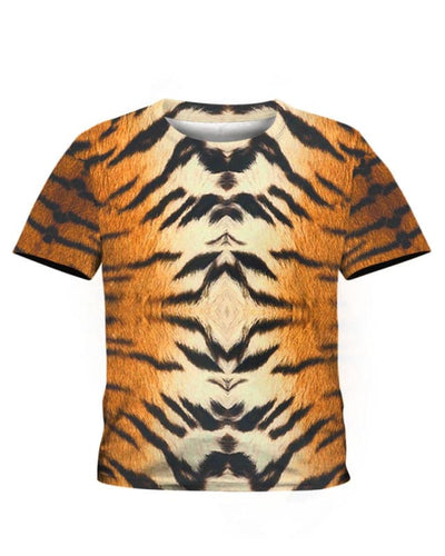 Tiger Skin Costume - All Over Apparel - Kid Tee / S - www.secrettees.com