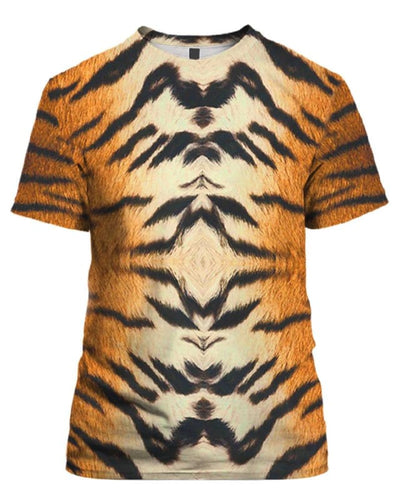 Tiger Skin Costume - All Over Apparel - T-Shirt / S - www.secrettees.com