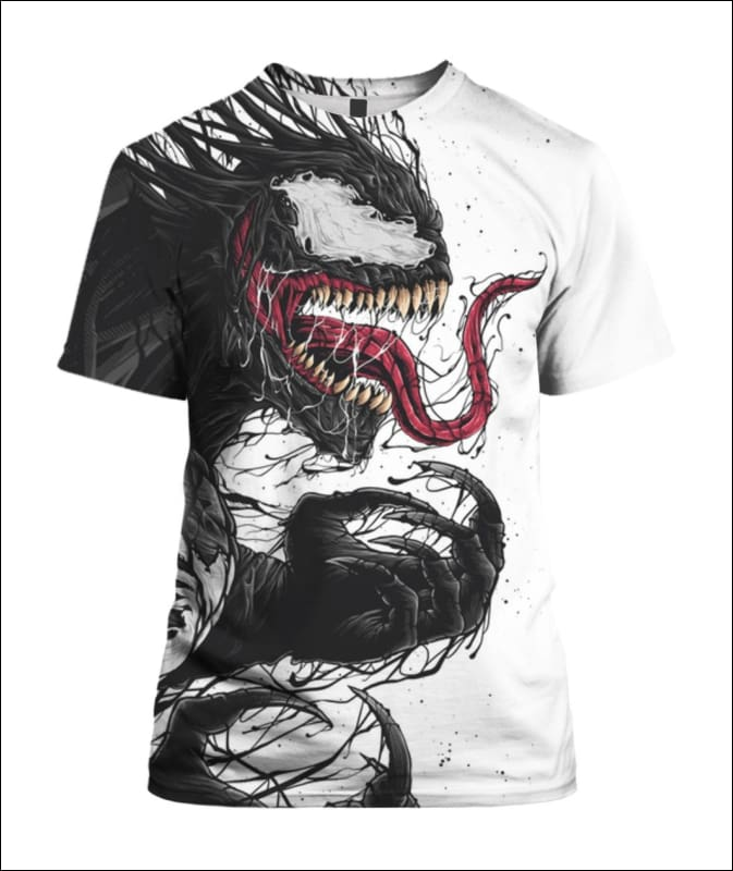 Venom 3D - Best Seller - All Over Apparel - Hoodie / S - www.secrettees.com