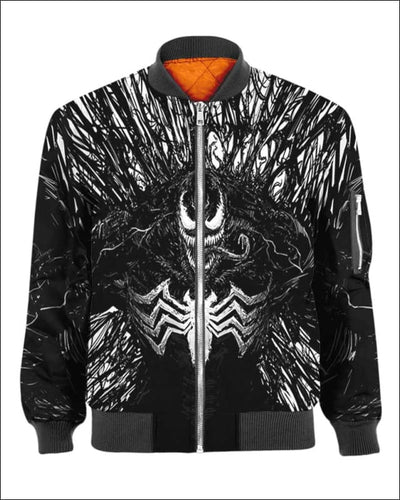 Venom Costume 3D - All Over Apparel - Bomber / S - www.secrettees.com