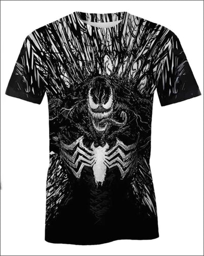 Venom Costume 3D - All Over Apparel - T-Shirt / S - www.secrettees.com