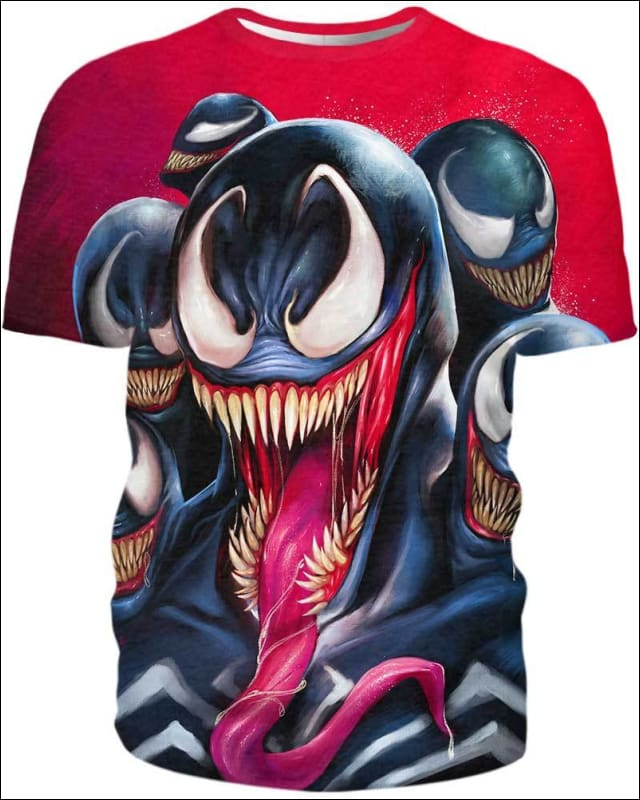 Venom The Madness - All Over Apparel - Hoodie / S - www.secrettees.com