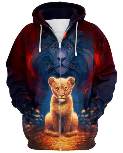 We Are One - All Over Apparel - Zip Hoodie / S - www.secrettees.com