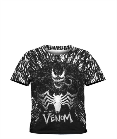 We are Venom 3D - All Over Apparel - Kid Tee / S - www.secrettees.com