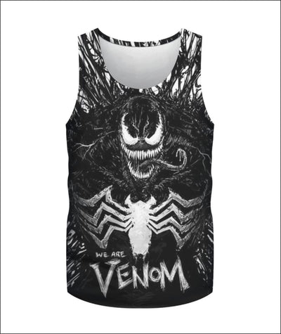 We are Venom 3D - All Over Apparel - Tank Top / S - www.secrettees.com