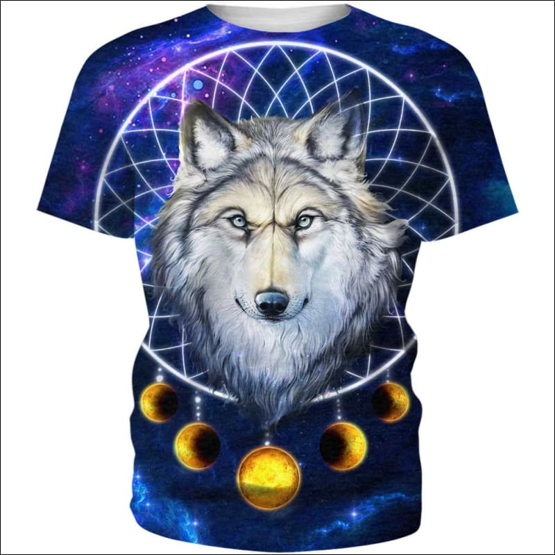 Wolf Dream Catcher Galaxy