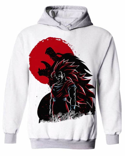 Wolf Warrior - All Over Apparel - Kid Hoodie / S - www.secrettees.com