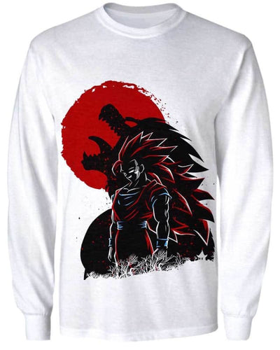 Wolf Warrior - All Over Apparel - Sweatshirt / S - www.secrettees.com