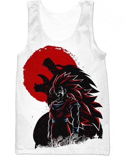 Wolf Warrior - All Over Apparel - Tank Top / S - www.secrettees.com
