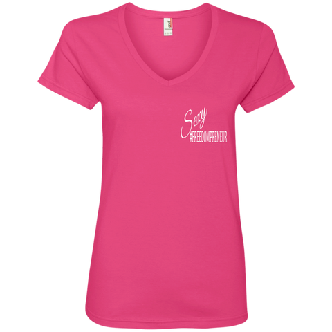 Sexy Freedom-Preneur Ladies Shirt - Sale