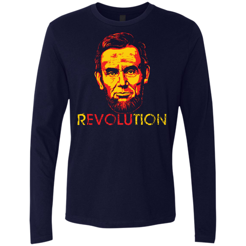 REVOLUTION - ABE MEN'S PREMIUM LONG SLEEVE T-SHIRT
