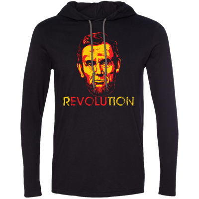 REVOLUTION - ABE MEN'S T-SHIRT HOODIE