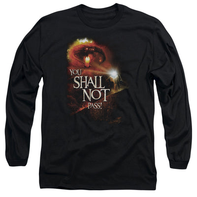 LORD OF THE RINGS - YOU SHALL NOT PASS UNISEX LONG SLEEVE