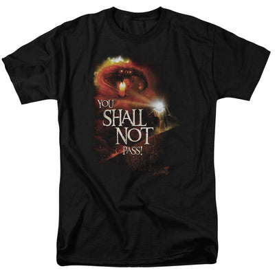 LORD OF THE RINGS - YOU SHALL NOT PASS MEN'S T-SHIRT