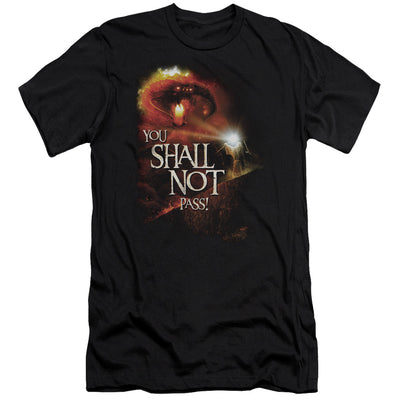 LORD OF THE RINGS - YOU SHALL NOT PASS MEN'S PREMIUM T-SHIRT