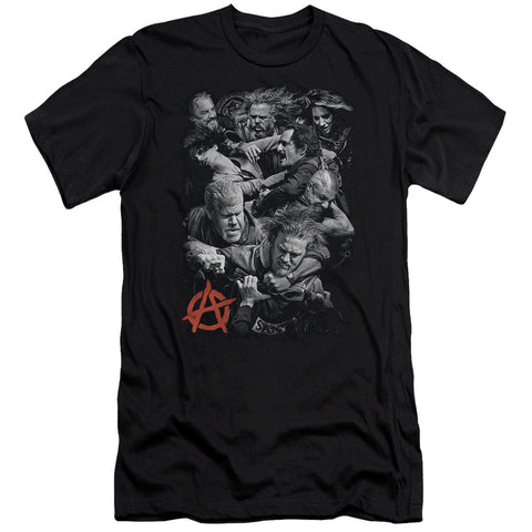 Sons of Anarchy - Group Fight Men's T-Shirt