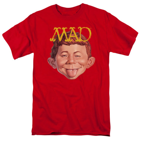 MAD/ABSOLUTELY MAD - MEN'S T-SHIRT - RED