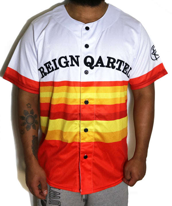 Reign Qartel Jersey - White/Orange
