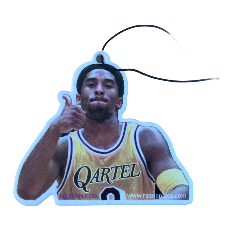 Kobe Qartel Air Freshener - Black Ice