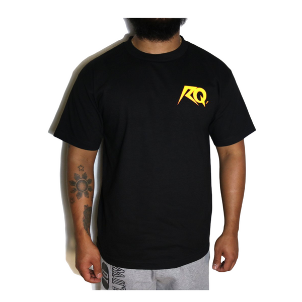 All Hail Tees - Black / Yellow