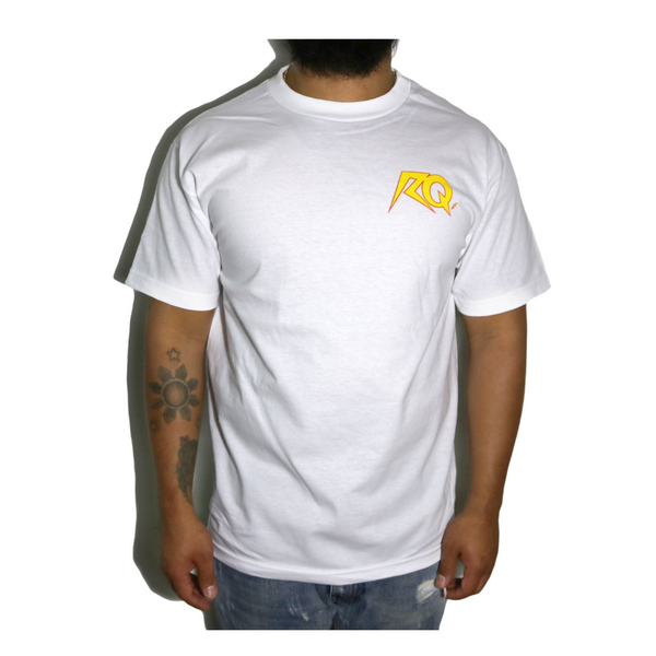 All Hail Tees - White / Yellow