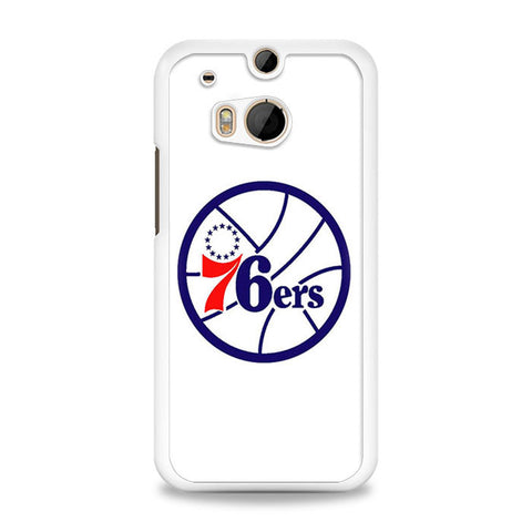 76ers Old Logo HTC One M8 | yukitacase.com