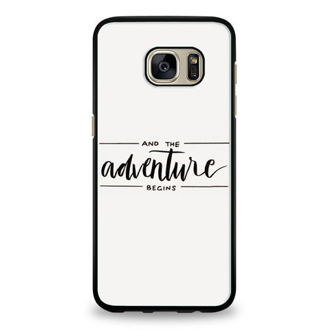 Adventure Begins Samsung Galaxy S6 Edge | yukitacase.com