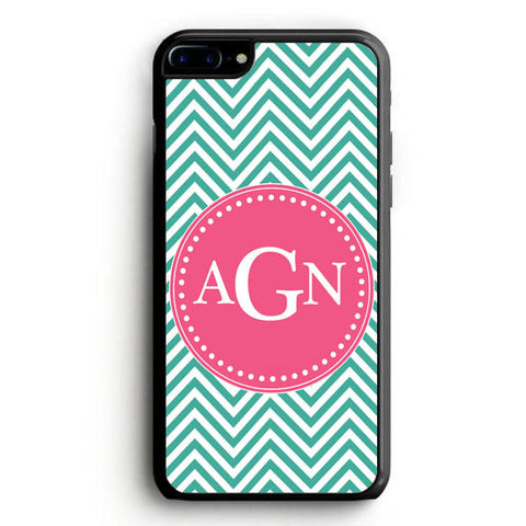 AGN Green and Grey Baby Shower Invitations iPhone 7 Plus Case | yukitacase.com