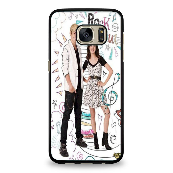 Austin and Ally Disney Samsung Galaxy S6 Edge | yukitacase.com