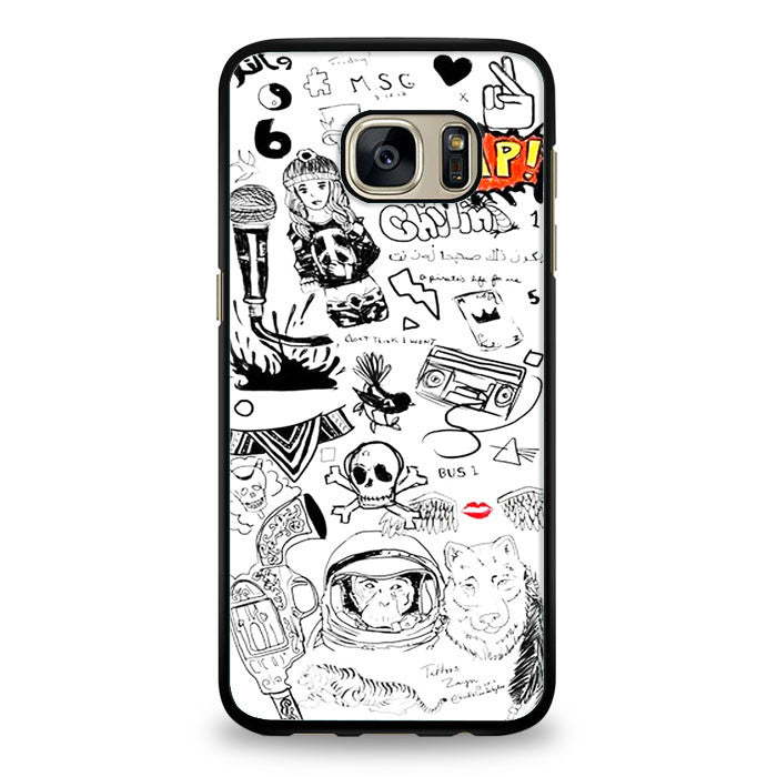 1D Zayn Malik Tattoos Samsung Galaxy S6 Edge Plus Case | yukitacase.com