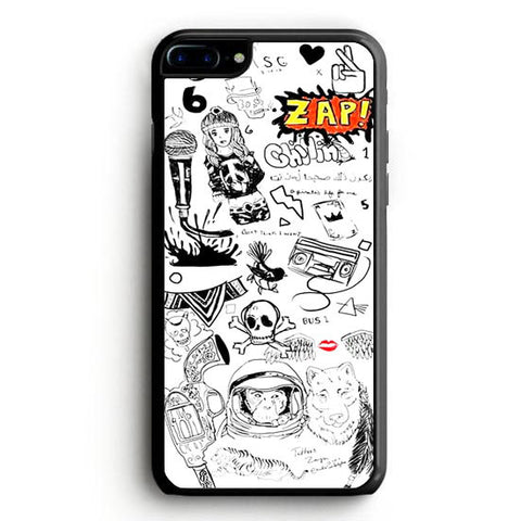 1D Zayn Malik Tattoos iPhone 7 Case | yukitacase.com
