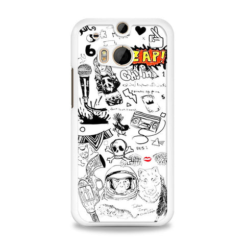 1D Zayn Malik Tattoos HTC One M8 Case | yukitacase.com