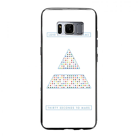 30 Seconds to Mars dreams Samsung Galaxy S8 Plus Case | yukitacase.com