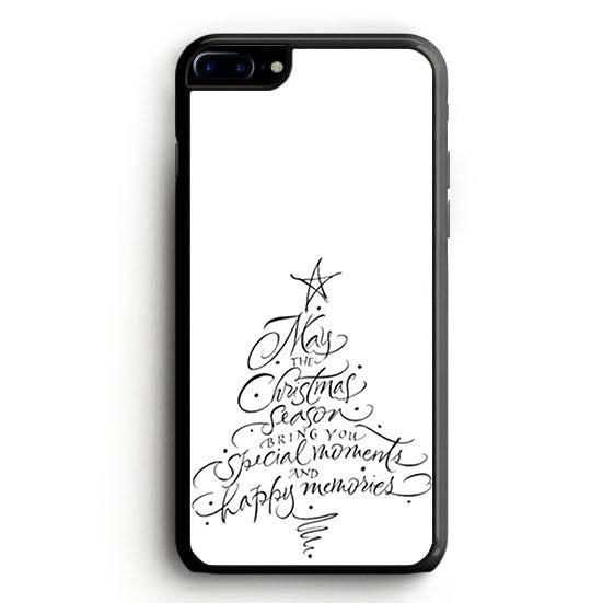 Chrismast Tree Handwriter iPhone 7 Plus | yukitacase.com