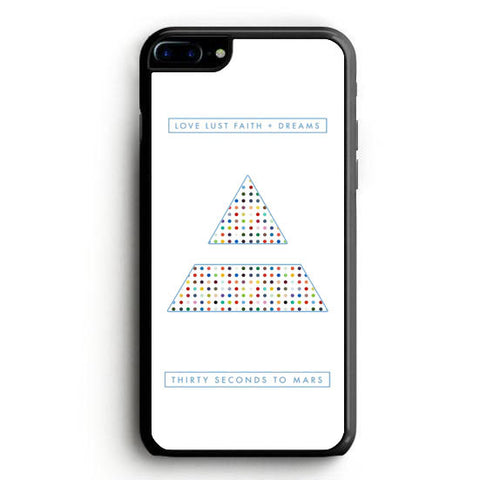 30 Seconds to Mars dreams iPhone 7 Plus Case | yukitacase.com