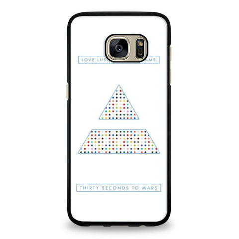 30 Seconds to Mars dreams Samsung Galaxy S6 Edge Plus Case | yukitacase.com